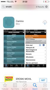 Te recomiendo mucho visitar la página de Eroski y bajar su app, al igual que la de Asociación de amigos del Camino de Santiago).
