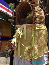 Un pequeño templo que protege los hogares y negocios.